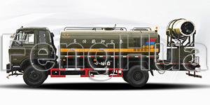 DS-60 Multi Functional Dust Suppression Truck (Dongfeng)