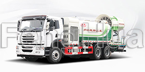 DS-120 Multi Functional Dust Suppression Truck (Qingte)